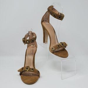 COACH Elizabeth Open-toe Sandal Heel